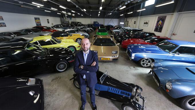 auto kollektion von gerard lopez die geilste garage europas auto motor und sport. Black Bedroom Furniture Sets. Home Design Ideas