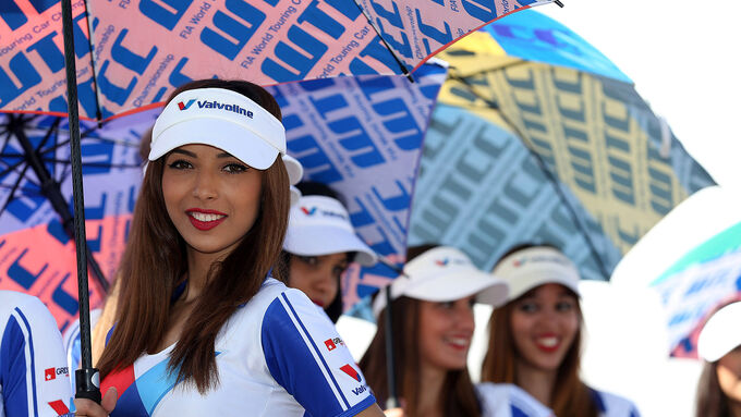 Girls - WTCC - Marrakesch - 13.04.2014