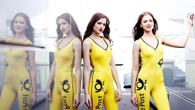 Grid Girls DTM Russland