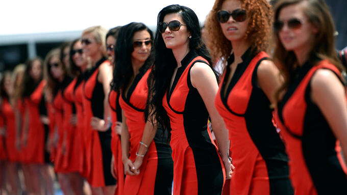 Grid Girls - GP Kanada 2014