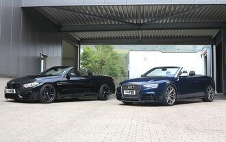 HR Audi RS5 Cabriolet und BMW M4 Cabrio