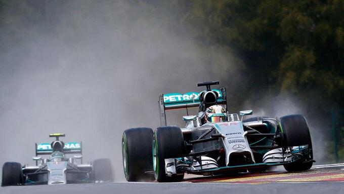 Mercedes-Dominanz