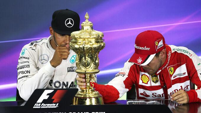 Hamilton Vettel - GP England 2015
