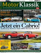 Heftinhalt Motor Klassik 05/2016