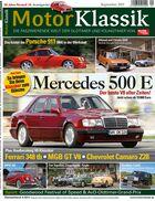 Heftinhalt Motor Klassik 09/2015