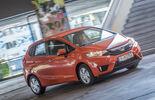 Honda Jazz 1.3, Frontansicht