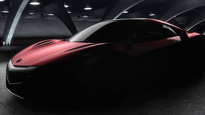 Honda NSX 2015 Teaser