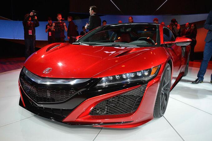 Detroit motor show premiere hier alle infos und fotos zum neuen nsx