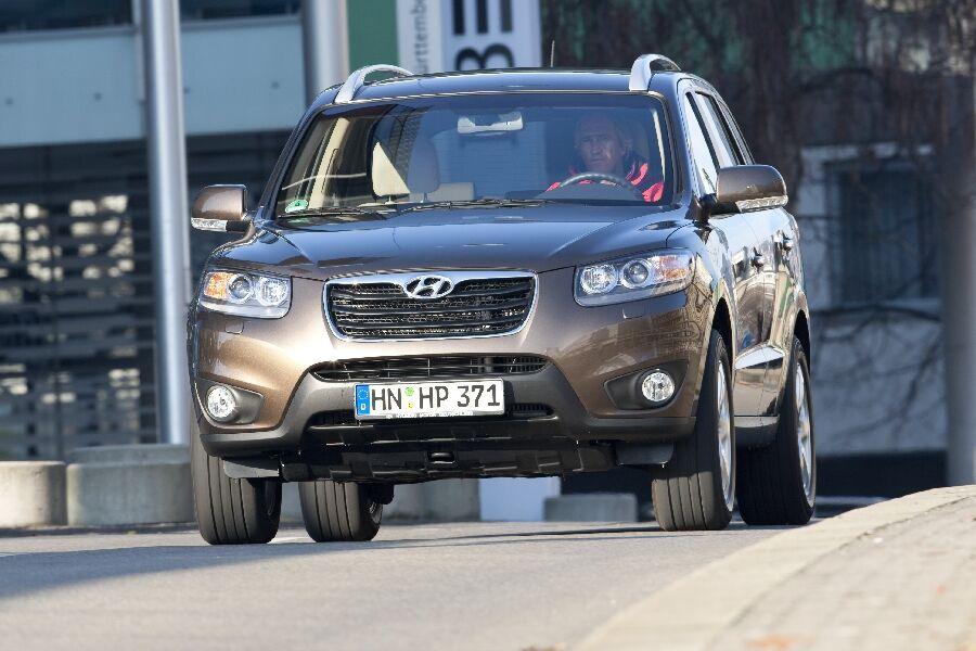 Hyundai Santa Fe Im Test Frischzellenkur Auto Motor Und