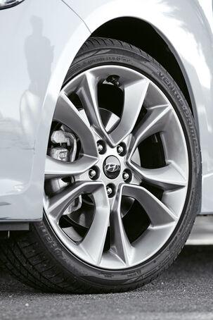 Hyundai Veloster Turbo, Rad, Felge