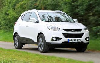 Hyundai ix35 2.0 CRDi 4WD, Frontansicht