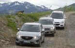 Hyundai ix35 2.0 CRDi, Mazda CX-5 2.2 D, VW Tiguan 2.0 TDI