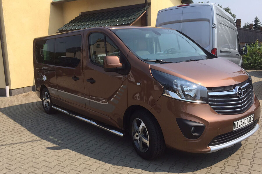 irmscher opel vivaro free auf dem caravan salon auto. Black Bedroom Furniture Sets. Home Design Ideas