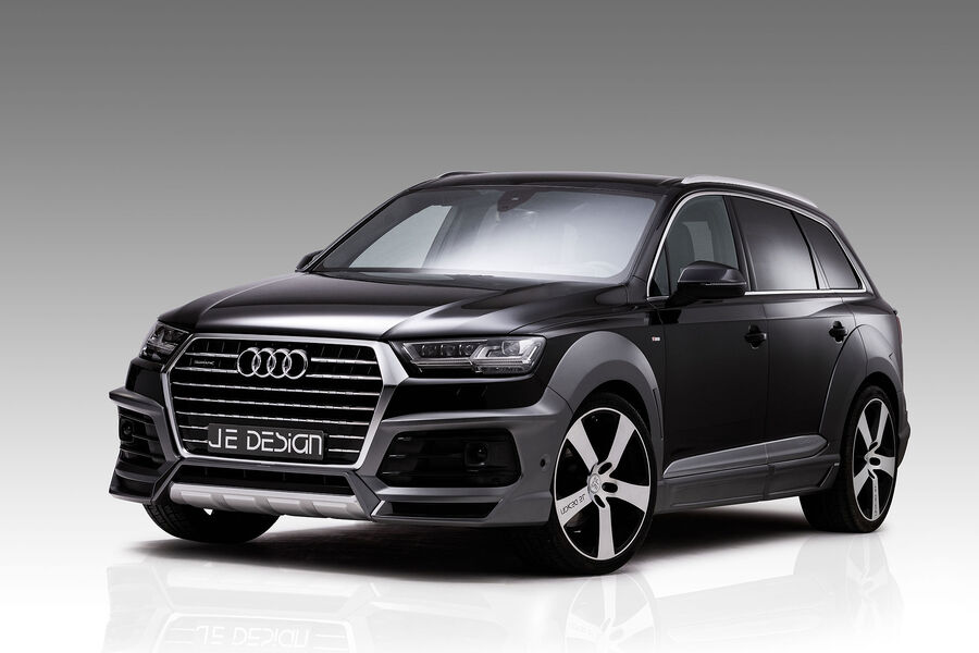 je design audi q7 widebody dicke backen und 522 diesel ps. Black Bedroom Furniture Sets. Home Design Ideas