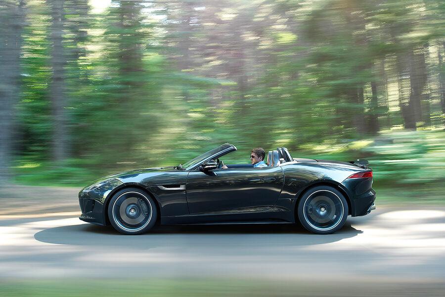 jaguar f type v8 s cabrio auto motor und sport. Black Bedroom Furniture Sets. Home Design Ideas