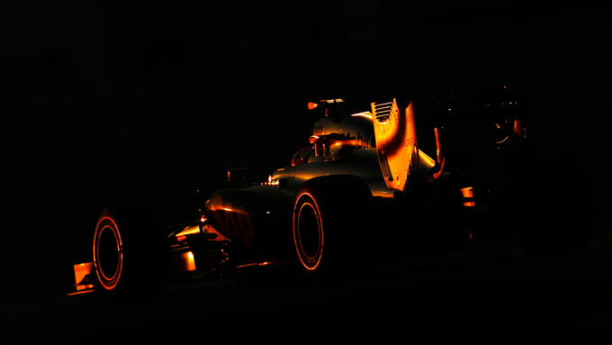 Jenson Button - McLaren - Formel 1 - GP Abu Dhabi - 22. November 2014