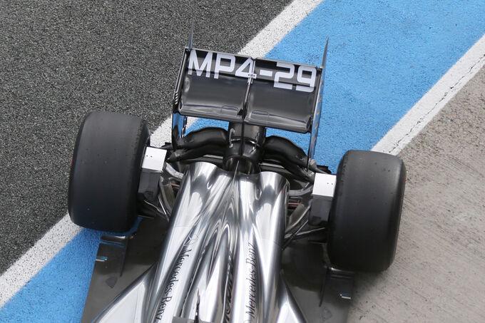 Jenson Button - McLaren - Jerez - Fórmula 1 - Teste - 29  Janeiro 2014