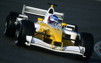 Jenson Button - Renault R202 - Test - Barcelona - 2002