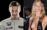 Jodie Kidd, Jenson Button