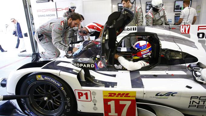 Montoya testet LMP1-Porsche