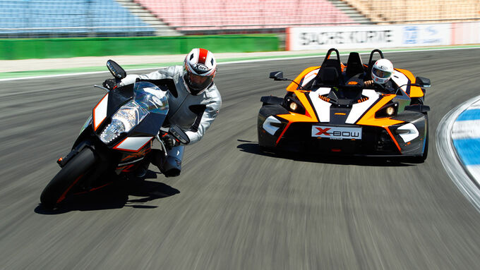KTM X-Bow R, KTM 1190 RC8 R
