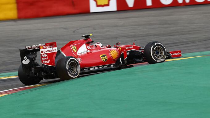 Ferrari zu langsam in Spa