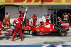 Räikkönen wieder im Pech
