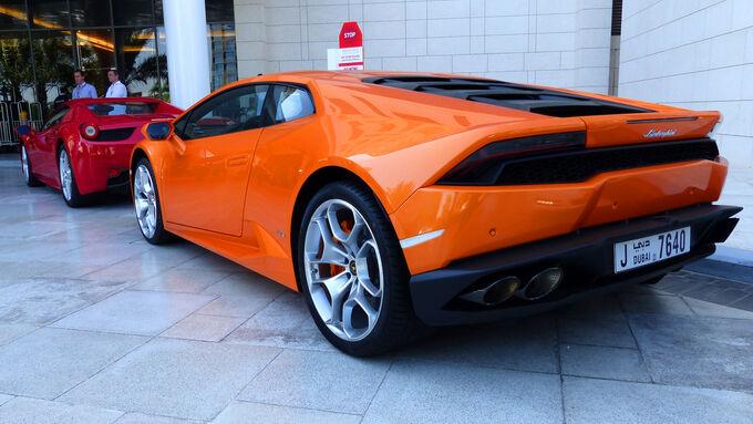 Lamborghini Huracan - F1 Abu Dhabi 2014 - Carspotting