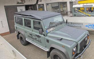 Land Rover Defender 110 Dachträger Riffelblech