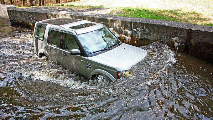 Land Rover Discovery TDV6 Supertest