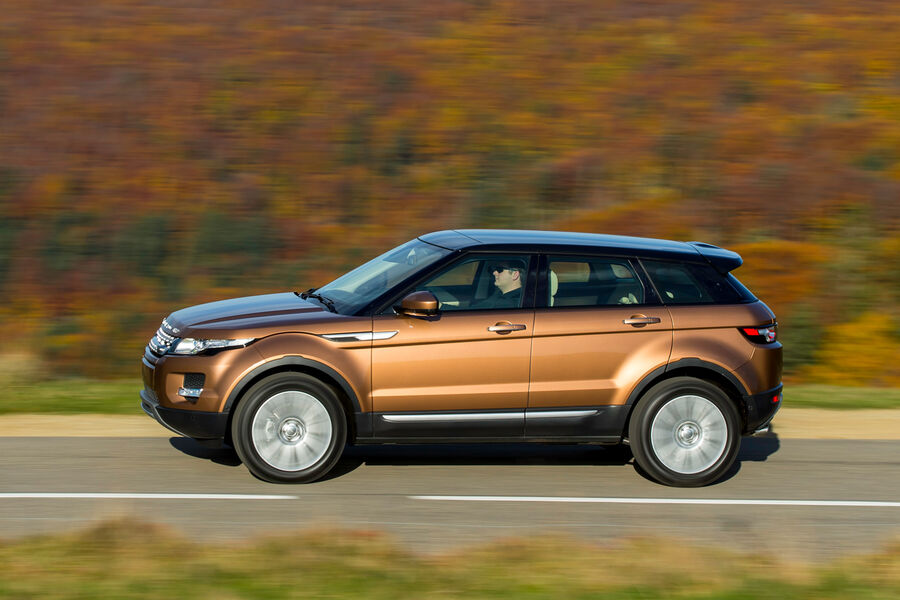 land rover evoque 2 2 sd4 seitenansicht fotoshowbigimage 1164a357. Black Bedroom Furniture Sets. Home Design Ideas
