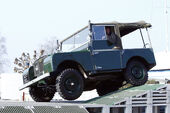 Land Rover Heritage Oldtimer 65. Geburtstag