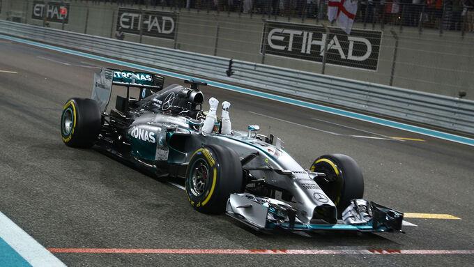 GP Abu Dhabi 2014 (Rennen)