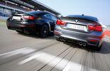 Lexus RC F, BMW M4 Performance, Rear view