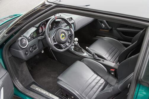 Lotus evora 400 im supertest auto motor und sport for Interieur gegenteil