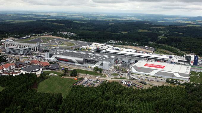 Luftaufnahme Nürburgring