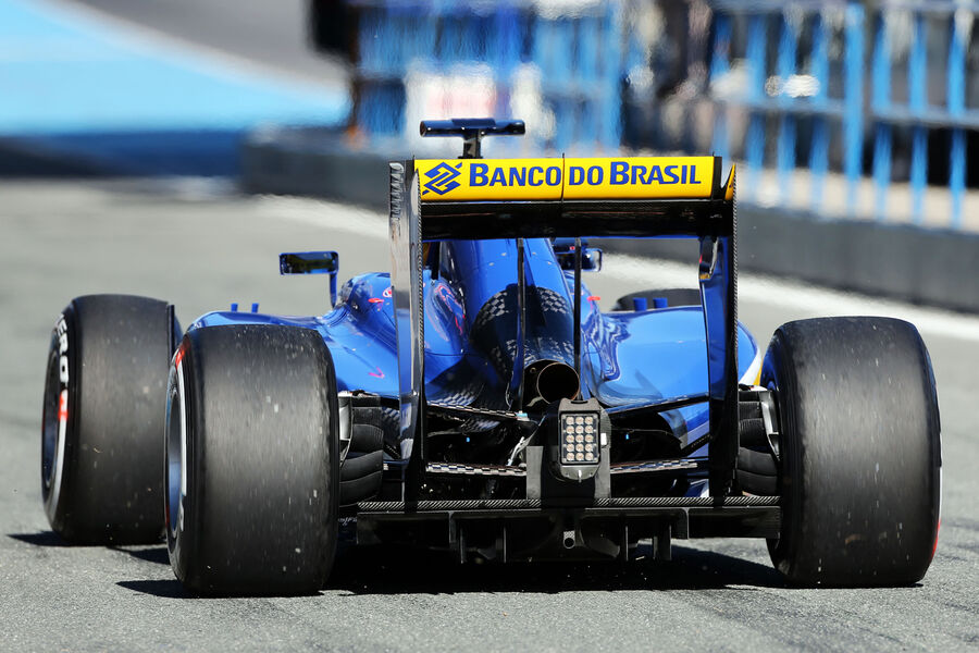 Marcus ericsson sauber formel 1 test jerez 1 febraur 2015