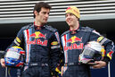 Mark Webber und Sebastian Vettel