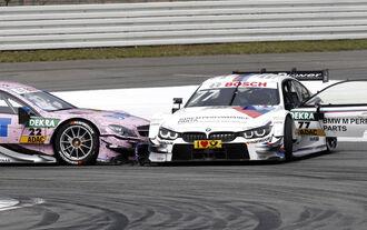 Martin Tomczyk - Crash - Hockenheim 2015