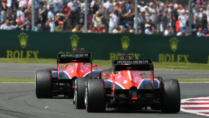 Marussia - GP England 2013