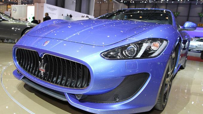 Maserati GranTurismo Sport Auto-Salon Genf 2012