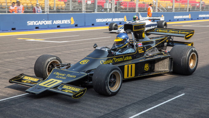 Masters Historic Grand Prix - GP Singapur 2014