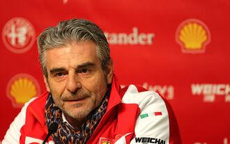 Maurizio Arrivabene - Ferrari - Formel 1-Test - Barcelona - 20. Februar 2015