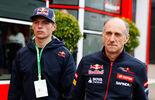 Max Verstappen  Franz Tost - GP Belgien 2014