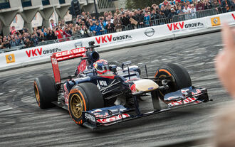 F1 Showrun Rotterdam