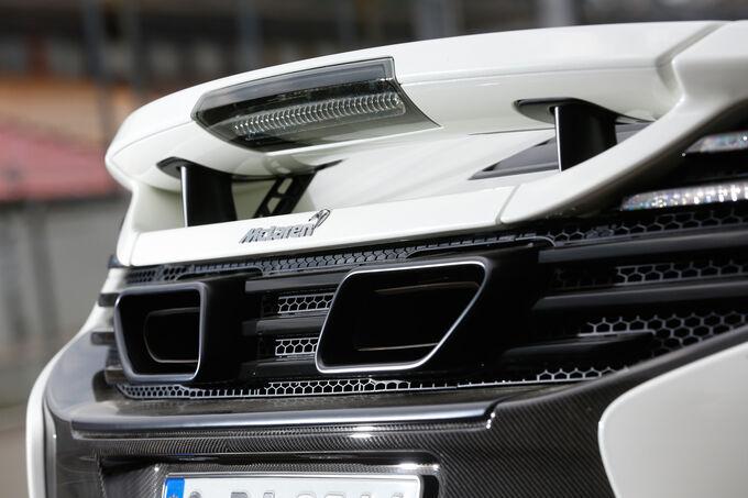 McLaren 650s Spider, Exhaust, Tail pipe, Rear panel