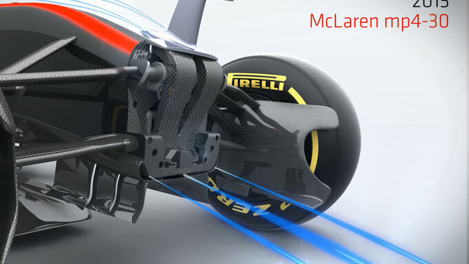 McLaren MP4-30 - Piola Animation - Formel 1 - 2015