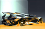 McLaren P1 GTR - Design Concept - Pebble Beach 2014 - Supersportwagen