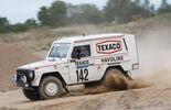 Mercedes 280 GE Dakar, Seitenansicht