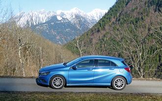 Mercedes A-Klasse A 180 CDI BE Edition, Seitenansicht